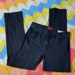 GUESS Black Wash Denim Men's Jeans Slim Straight